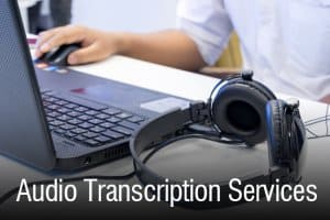 Transcription services by Ortiz Interpretation, LLC